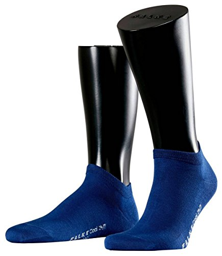 (Falke Mens Cool 24/7 Sneaker Socks - Royal Blue - Medium)