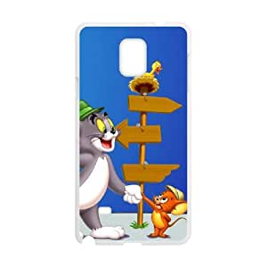tom and jerry normal Samsung Galaxy Note 4 Cell Phone Case White PSOC6002625595040