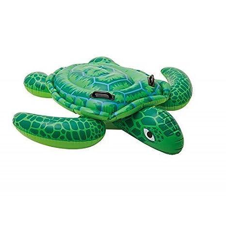 Hinchable Tortuga / Montura / Flotador animal / Animal hinchable / Badetier / Tortuga en verde 150 x 127 cm: Amazon.es: Juguetes y juegos
