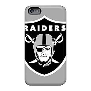 High Quality Mobile Cover For Apple Iphone 6 Plus With Provide Private Custom Lifelike Oakland Raiders Pattern JacquieWasylnuk