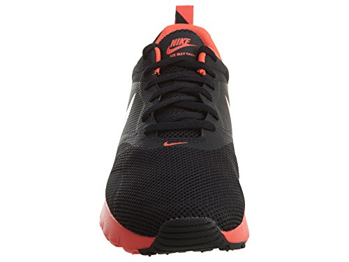 Nike Unisex-Kinder Air Max Tavas Fb (GS) Low-Top Schwarz (Black/Bright Crimson)