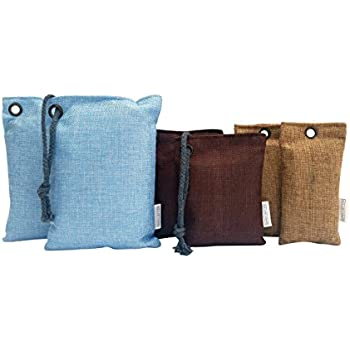 air purifying bags by simply better goods 100 natural effective bamboo charcoal. Black Bedroom Furniture Sets. Home Design Ideas