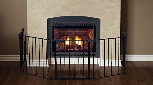 Amazon.com : Fireplace Fence Baby Safety Fire Gate For Kids Pellet Stove  Child Toddler BBQ Fence Hearth Gate For Babies Guard With Gate Assembled :  Baby - Amazon.com : Fireplace Fence Baby Safety Fire Gate For Kids Pellet