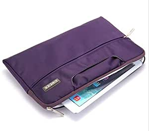 "Laptop Notebook Carry Case Sleeve Bag For 13"""" Macbook Pro Air Retina Purple"