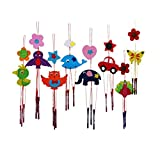 Xiwindar 1Pc DIY Kids Childrenkids Educational Toy Colorful Campanula Wind Chime Kindergarten Manual Arts And Crafts Magic Trick Toys