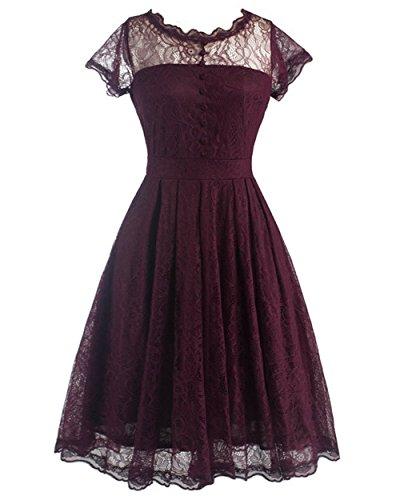 Buy bridesmaid dresses vintage look - 8