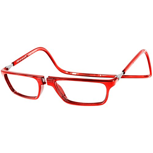clic-magnetic-front-connect-executive-style-reading-glasses-red-175-x