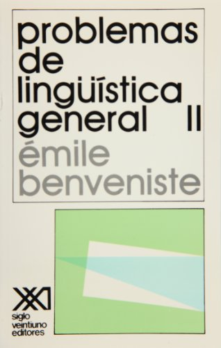 Problemas de lingüística general. II