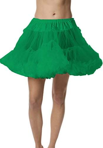 Petticoat Crinoline; Perfect adult tutu, princess tutu, or adult dance skirt. Also great as tulle skirt, short petticoat or with a vintage dresses. Tulle fabric - Green tutu