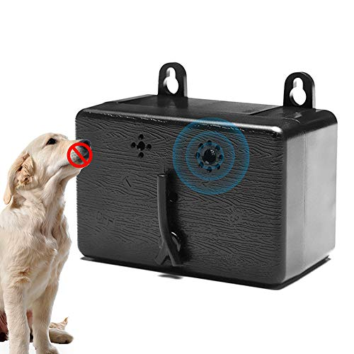 Ultrasonic Anti Barking Device for Outdoor Wild Dog, Auto Dog Barking Deterrent Devices, 3 Frequency Adjustable, Max…