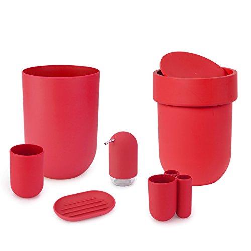 Umbra 023273 505 dispensador de loci n y de jab n for Accesorios bano plastico