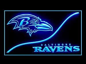 Amazon.com: Baltimore Ravens Cool Led Light Sign: Home ...