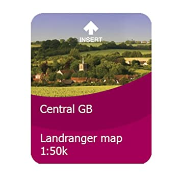 Satmap - Tarjeta con mapas de Gran Bretaña para GPS (Escala ...