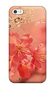 VdoTmUy9531UfQAt Tpu Phone Case With Fashionable Look For Iphone 5/5s - Flower S