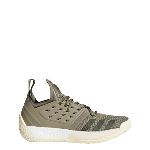adidas Men's Harden Vol 2 Basketball Shoe Trace Cargo/Ecru Tint/Night Cargo Size 10 M US