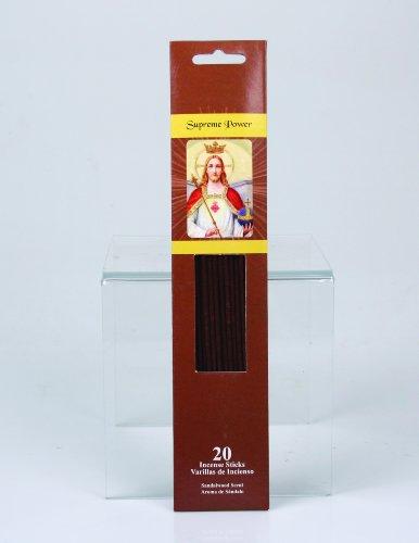 Jodhpuri 120 Religious Incense Sticks (6 packs of 20) (Supreme Power (Sandalwood))