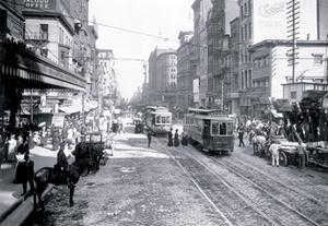 - Historic Philadelphia Trolleys Paper poster printed on 12 x 18 stock.