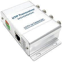 BeElion UTP 4 Channel BNC to RJ45 Coax Pasive Video Balun Transmitter for CCTV Camera System