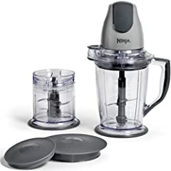 Ninja Master Prep              With the Ninja Master Prep, crush ice into snow in seconds, blend frozen fruits into creamy smoothies, and chop fresh ingredients evenly! The interchangeable 400 Watt power pod quickly switches b...