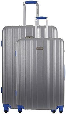 Platinium 6_250837 - Juego de maletas adultos unisex plata plata 70.00
