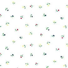 Kittrich Magic Cover Self-Adhesive Shelf Liner, 18-Inch by 9-Feet, Tulips