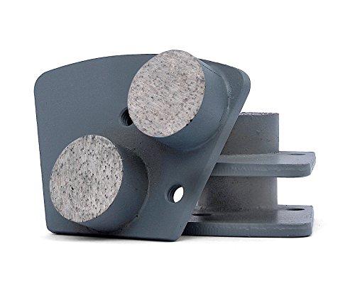 Bond Diamond Metal Grinding Disc (Metal Diamond Floor Grinding Pads 30 Girt for Concrete Terrazzo Floor Polishing Discs by Z-LION(3 Pcs/lot))
