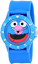 "Sesame Street Unisex SW4920GR ""Grover Sport"" Blue Slap Watch"