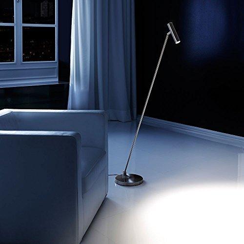 lupia Luz Jim/ - Lámpara de pie LED (133 cm con regulador de ...