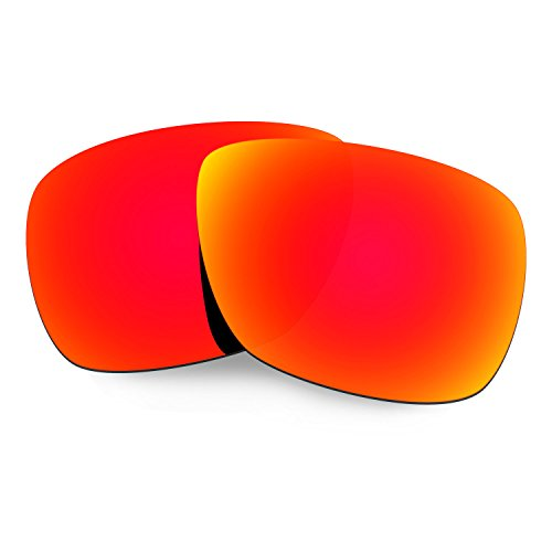 Hkuco Mens Replacement Lenses For Oakley Inmate Sunglasses Red - Sunglasses Inmate