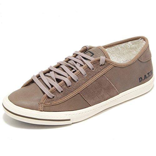 3016I sneakers uomo D.A.T.E. tender low plus storm scarpe shoes men Tortora Scuro