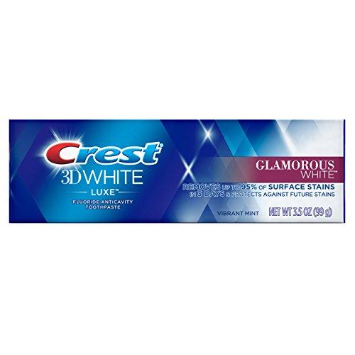 Crest 3D White Luxe Glamorous White Toothpaste 3.5 oz
