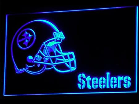Pittsburgh Steelers Casco Neon LED Caracteres Publicidad ...