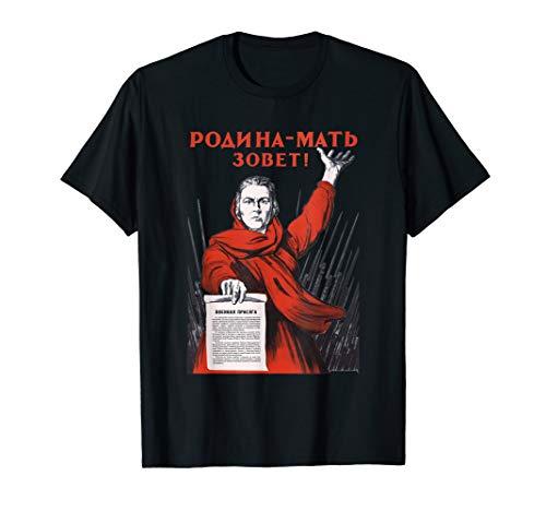 Motherland Calling Soviet Union USSR Russian Retro Vintage