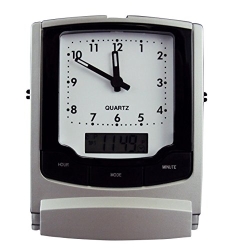 Travel Alarm Clock with Dual Display ()