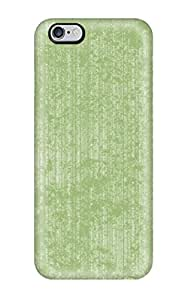 Rugged Skin Case Cover For Iphone 6 Plus- Eco-friendly Packaging(funky Green Texture )
