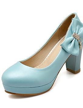 GGX/ Zapatos de mujer-Tacón Robusto-Tacones-Tacones-Boda / Vestido