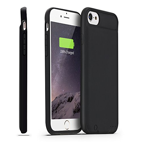 iPhone 8 / 7 Battery Case , Bosuge [Can Support Lightning to Lightning Earphone/Microphone] Ultra Slim Portable Charger iPhone 7...  v iphone 7 case | $5500 iPhone Case – Worlds Most Expensive 41ltZA6aVWL