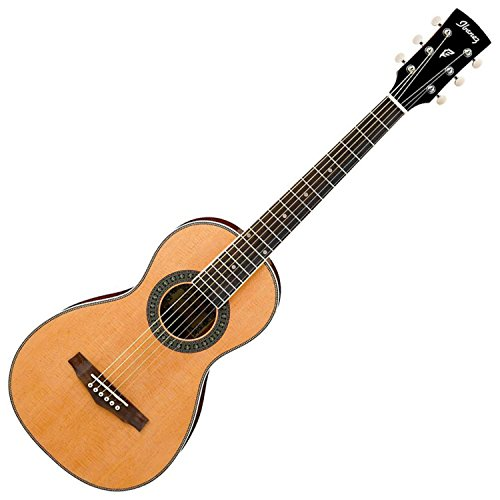 - Ibanez PN1 Natural Parlor Acoustic Guitar