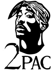 2PAC: -Lined notebook - 100 pages - WHITE COLOR - 6x9 -matte cover.