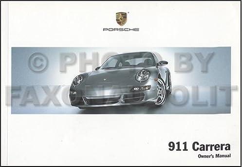 2006 porsche 911 carrera owner s manual original amazon com books rh amazon com Porsche 911 GT3 RS 2006 porsche 911 4s owners manual
