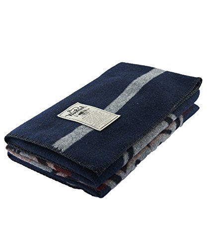 "Woolrich Unisex Pacific Crest Trail Jaquard 46x60 No Color One Size - Made in the USA 95% Wool 5% Nylon 46""x60"" Dimension - blankets-throws, bedroom-sheets-comforters, bedroom - 41ltaZzS49L -"