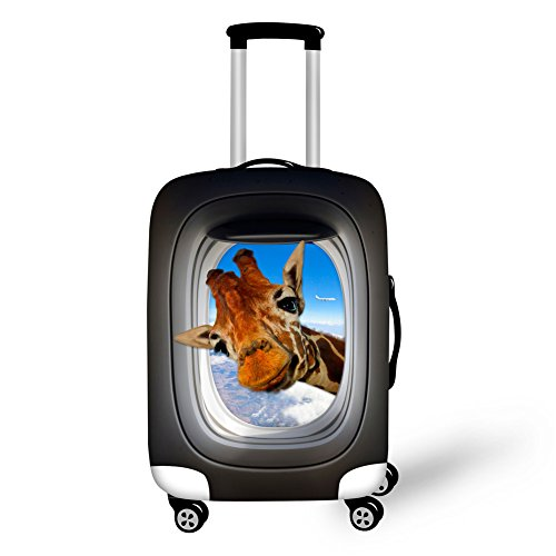 HUGSIDEA Brand Designs Animal Protective Waterproof Dust Covers for 22-26 Inch Wheeled Suitcase by HUGS IDEA