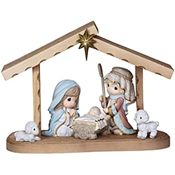 Amazoncom Precious Moments Nativity Series Come Let Us Adore