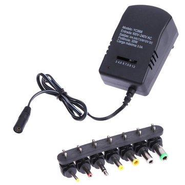 Run&Teng YCOL668 3A 30W 3V 4.5V 6V 7.5V 9V 12V Power Adapter Supply Charger -Electronics Plug & Adaptors - (AU) - 1 x Run&Teng YCOL668 Power Adapter