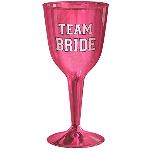 Amscan (Amsdd) Team Bride Wine Glasses Childrens-Party-Cups