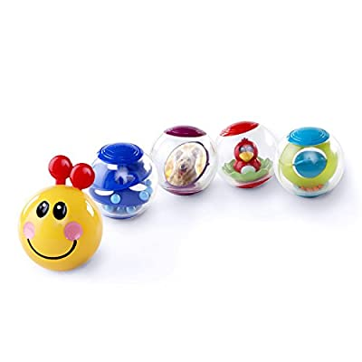 Baby Einstein Roller-Pillar Activity Balls and Explore & Discover Soft Blocks