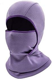 Woogwin Kids Balaclava Ski Face Mask Windproof Neck Warmer Winter Fleece Face Scarfare Gaiter for Boys Girls