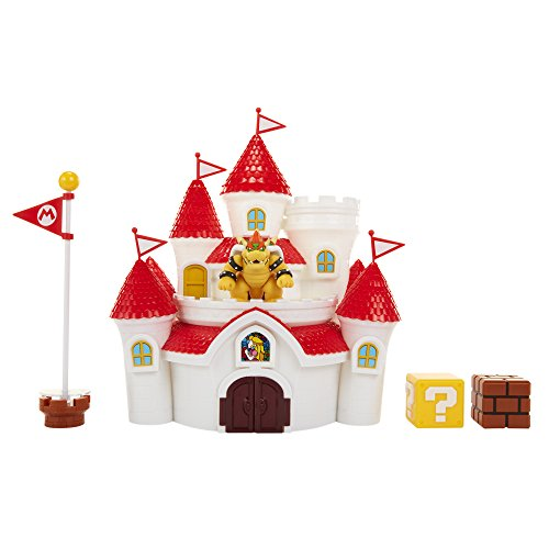 Nintendo Super Mario Mushroom Kingdom Castle Playset with Exclusive 2.5