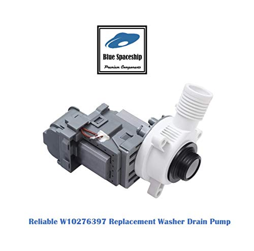 Reliable W10276397 Washer Drain Pump. Replacement Part Fits for Whirlpool, Roper, Inglis Washers and Replaces PS11751719, WPW10276397VP, B00DZU7RTO
