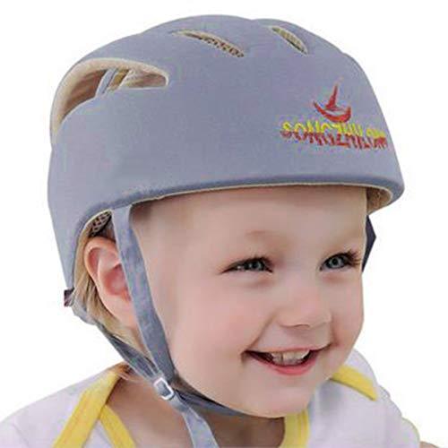 JullyeleESgant Cascos de Seguridad para bebés Sombrero de protección Infantil de algodón para niños recién Nacidos Casco de protección antichoque para niños ...